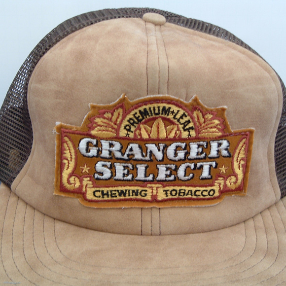 67ac5282 granger select Accessories | Vintage Chewing Tobacco Trucker Hat ...